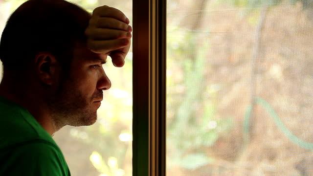 Desperate man, depressed man, sad man, melancholy man video