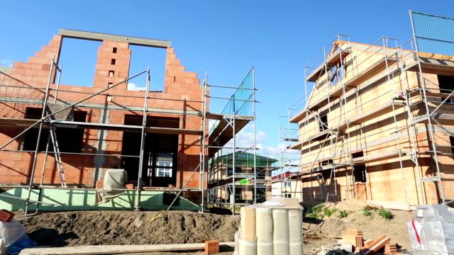 Detached house / construction site video