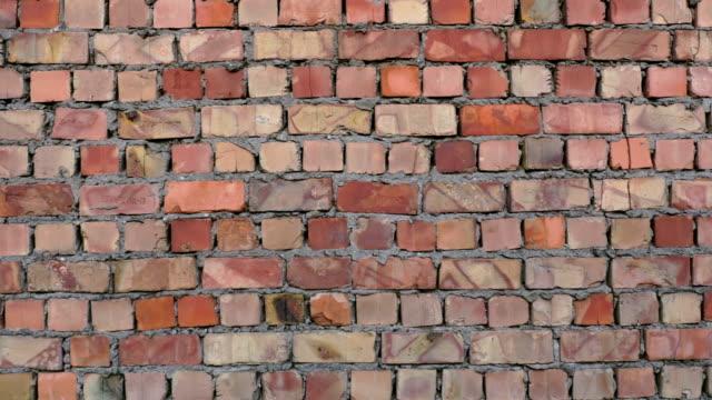 bric の壁の細部 - 煉瓦点の映像素材/bロール