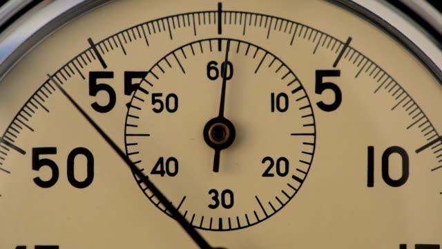 vidéos et rushes de détail de chronomètre - chrono sport