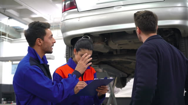 Detailed vehicle assessment video