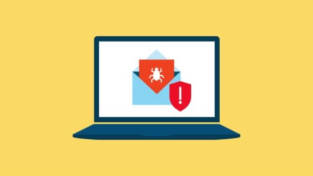 wykrywanie poczty za pomocą wirusa - phishing filmów i materiałów b-roll