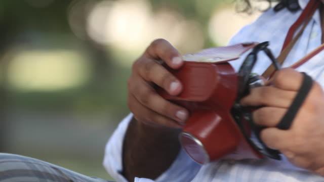 Detective with walkie talkie