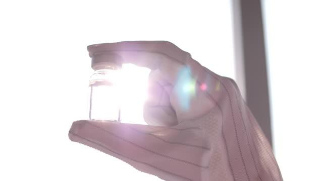 予防接種の開発 - 研究所点の映像素材/bロール