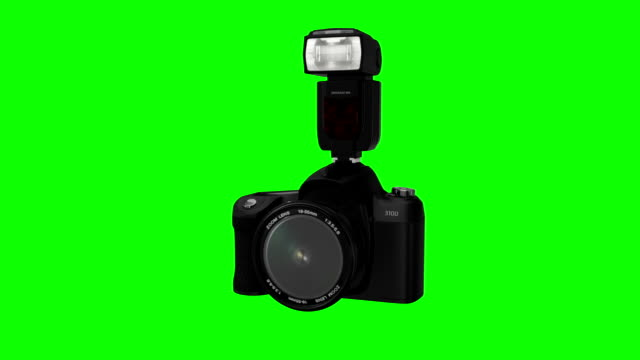 Devices Transform over Greenscreen video