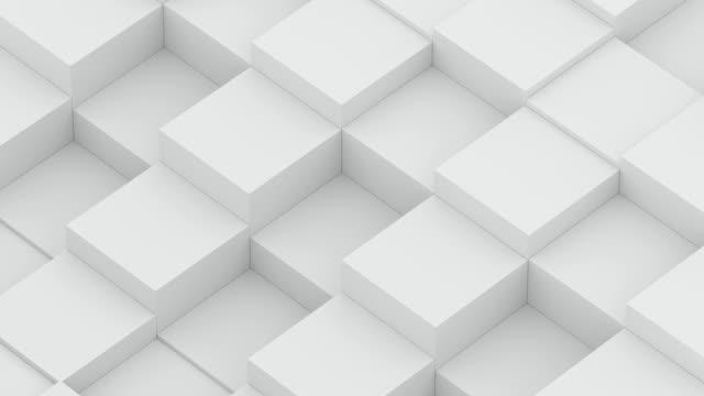 Video diagonal cube waves