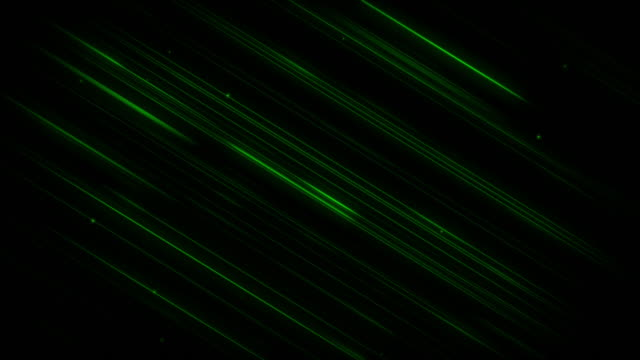 Diagonal Green Lines 4K Background video