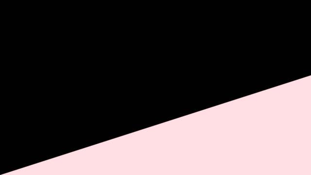 斜めのワイプと色の抽象的な背景 - 斜めから見た図点の映像素材/bロール