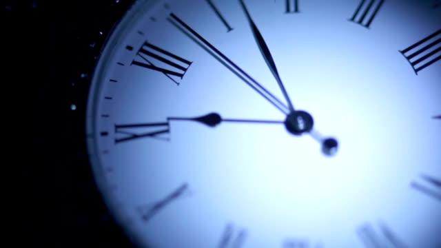 Dial pocket watch close up video