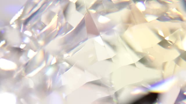 Diamond background - macro video