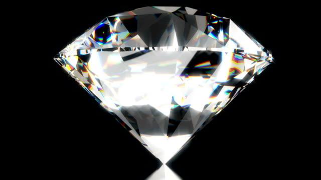 Diamond, beautiful background. seamless 3d animation video