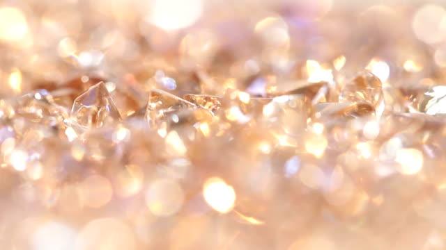 ダイヤモンドゴールドの背景 ビデオ