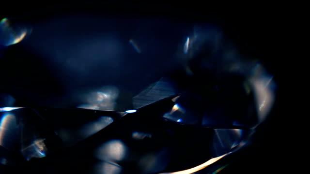 diamond macro 06 - brillante video stock e b–roll