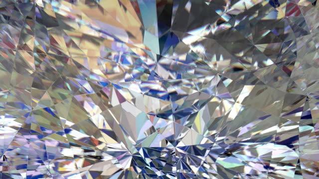 diamond makro slinga - loopad bild bildbanksvideor och videomaterial från bakom kulisserna