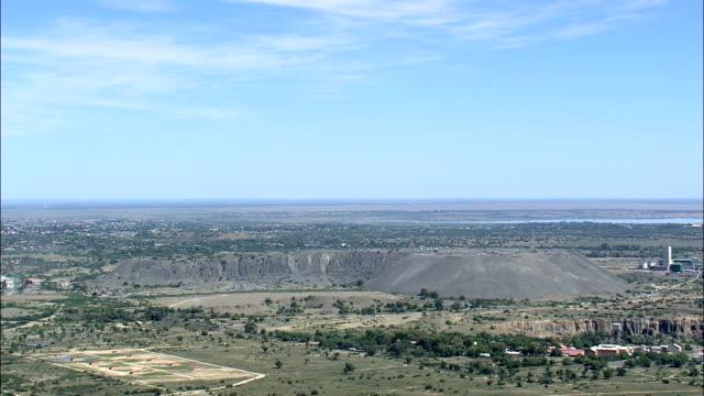 Diamond Mine  - Aerial View - Orange Free State,  South Africa video