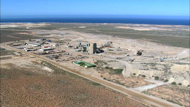 Diamond Mining  - Aerial View - Northern Cape,  Namakwa District Municipality,  Kamiesberg,  South Africa video