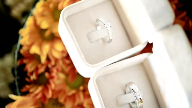 HD: Diamond Rings in Wedding video