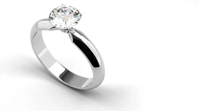 stockvideo's en b-roll-footage met diamond rings - ring juweel