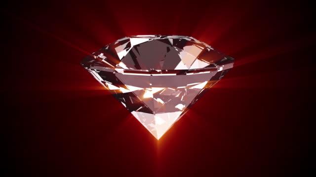 Diamond Turning Animation - Loopable video