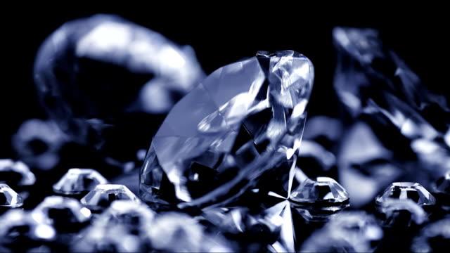 ダイヤモンドの輝く ビデオ