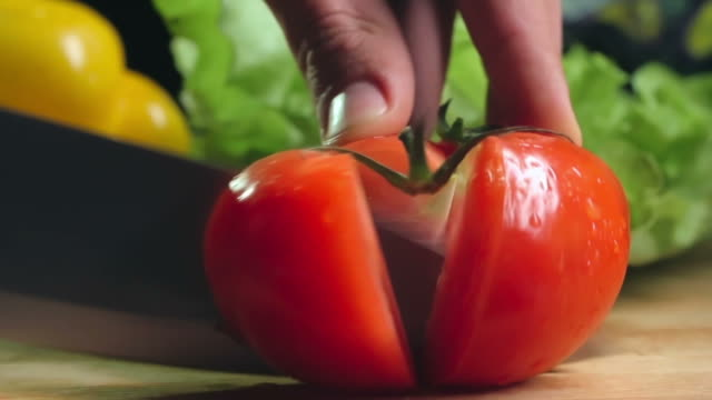 Dicing Tomato video