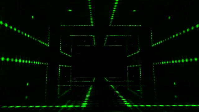 dicko bühne led light dance - 4k stock video - loop - citylight stock-videos und b-roll-filmmaterial