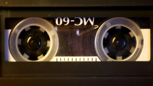 dittafono - mangianastri video stock e b–roll