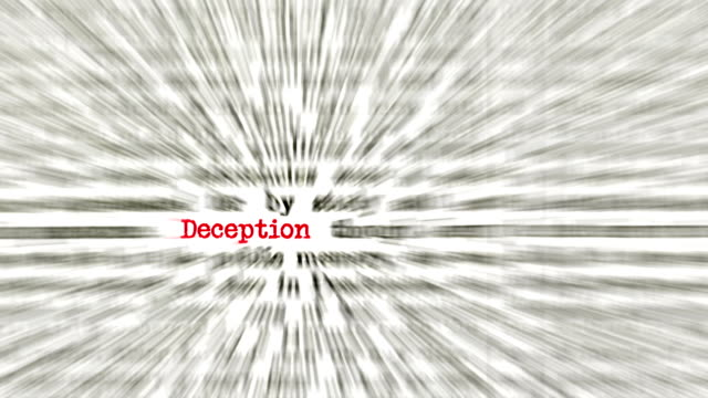 Dictionary Fraud style concept animation. video