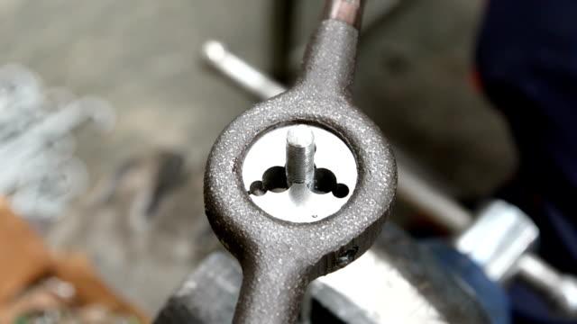 Die cutters. Die cutters bolt bolt fastener stock videos & royalty-free footage