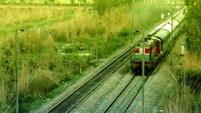 diesel pociągu - intercity filmów i materiałów b-roll