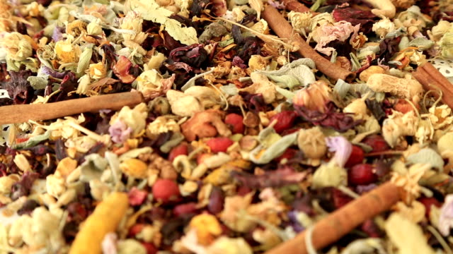 Different kind of healing herbs video