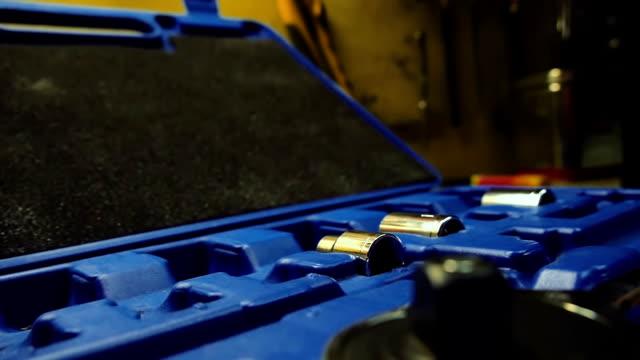 verschiedene tools - steckschlüssel stock-videos und b-roll-filmmaterial