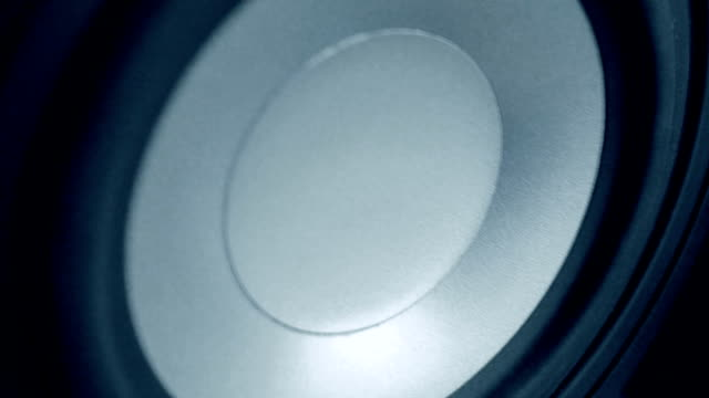 Diffuser of a speaker video