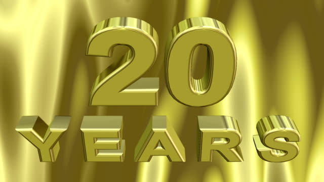 vídeos de stock e filmes b-roll de digital 3d jubilee animation - 20 24 anos