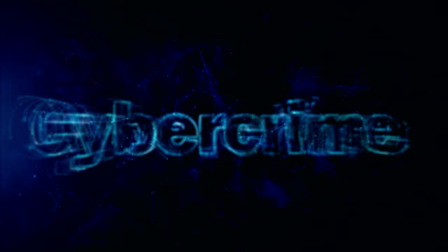 Digital Abstract Background, Cybercrime Concept