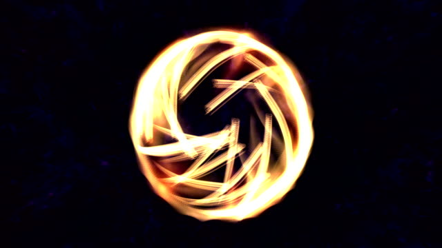 Digital Animation of a mystic Light