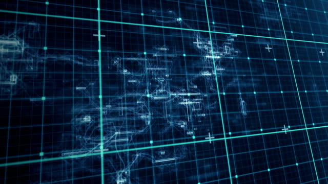 Digital animation of matrix video