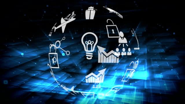Digital application icons