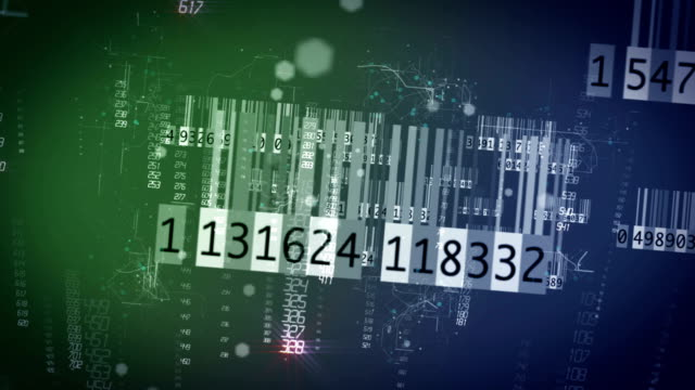 Digital barcode video