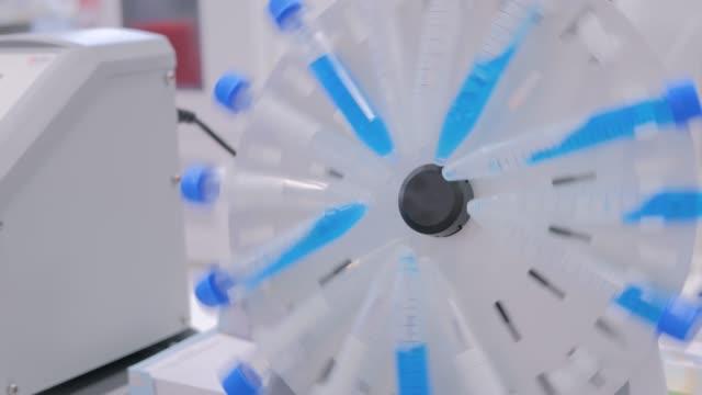 Digital circular tube rotator for effective mixing biological samples - close up