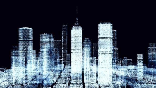 Digital city panning