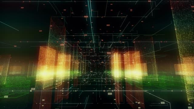 digitale stadt - smart city stock-videos und b-roll-filmmaterial