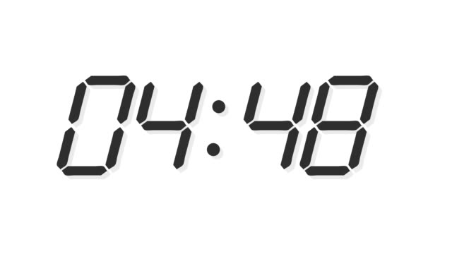 Digital clock count time lapse Digital clock count 24 h time lapse clean design timer stock videos & royalty-free footage