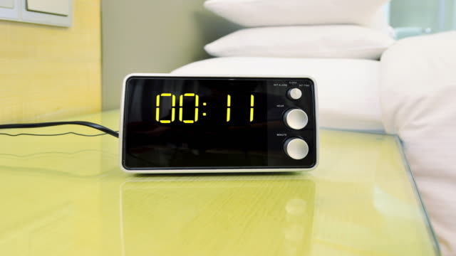 Digital Clock Time Lapse video
