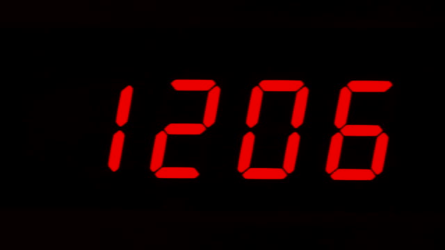 digital clock digital clock,watch instrument of time,timer daylight savings stock videos & royalty-free footage