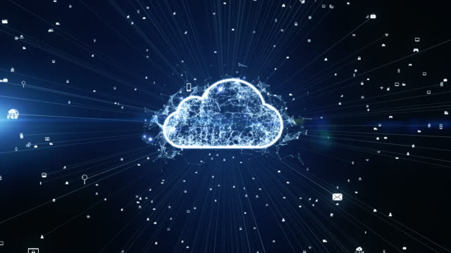 Digital Cloud Computing, Cyber Security, Digital Data Network Protection, Future Technology Digital Data Network Connection Background Concept. Digital Cloud Computing, Cyber Security, Digital Data Network Protection, Future Technology Digital Data Network Connection Background Concept. encryption stock videos & royalty-free footage
