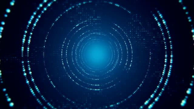 Digital Code falling and Computer Hacker 4K