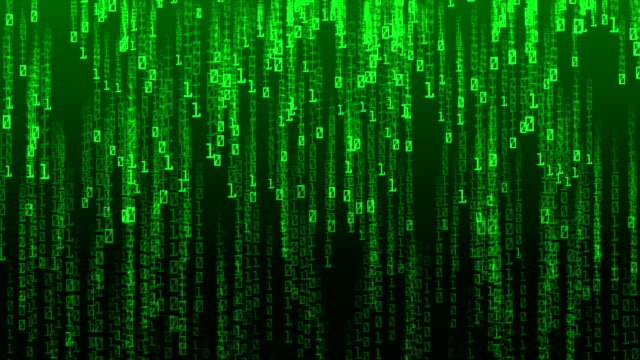 デジタル コード落下およびコンピューター ハッカー - ウイルス対策ソフト点の映像素材/bロール