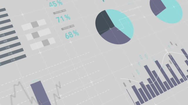 digital composite of financial charts 4k - график стоковые видео и кадры b-roll