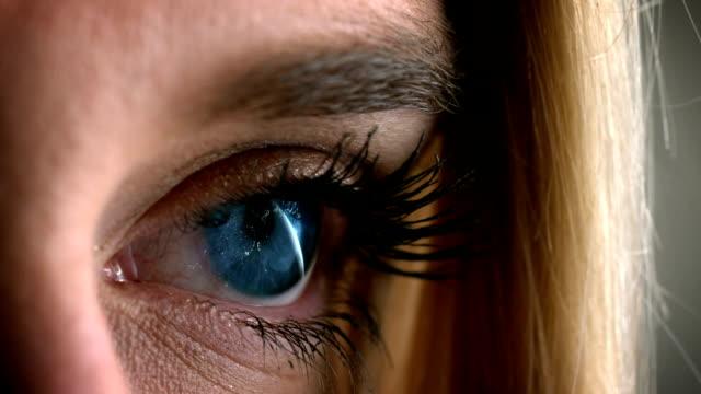 Digital composite Video von Zwinkerndes Auge – Video